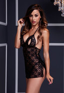 Black Lace Babydoll 1 Pc