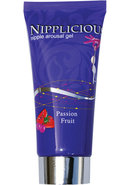 Nipplicious Nipple Arousal Gel Passion Fruit 1 Ounce