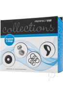 Perfect Fit Collections Premium C-rings Assorted Cockrings...