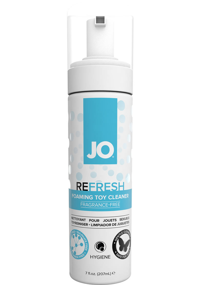 Jo Foaming Toy Cleaner Unscented 7 Ounce