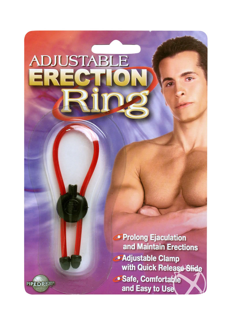 Adjustable Erection Ring Red
