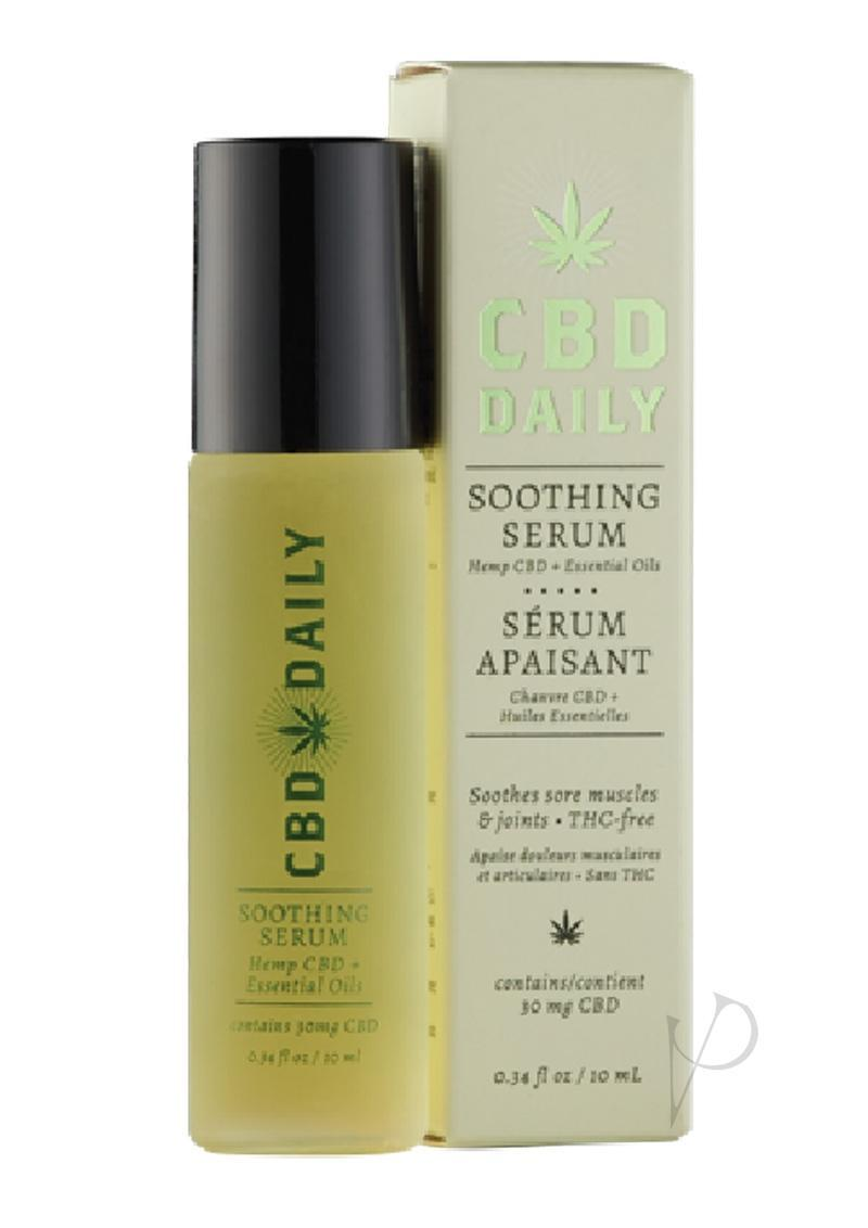 Cbd Daily Soothing Serum Roller .34 Ounce